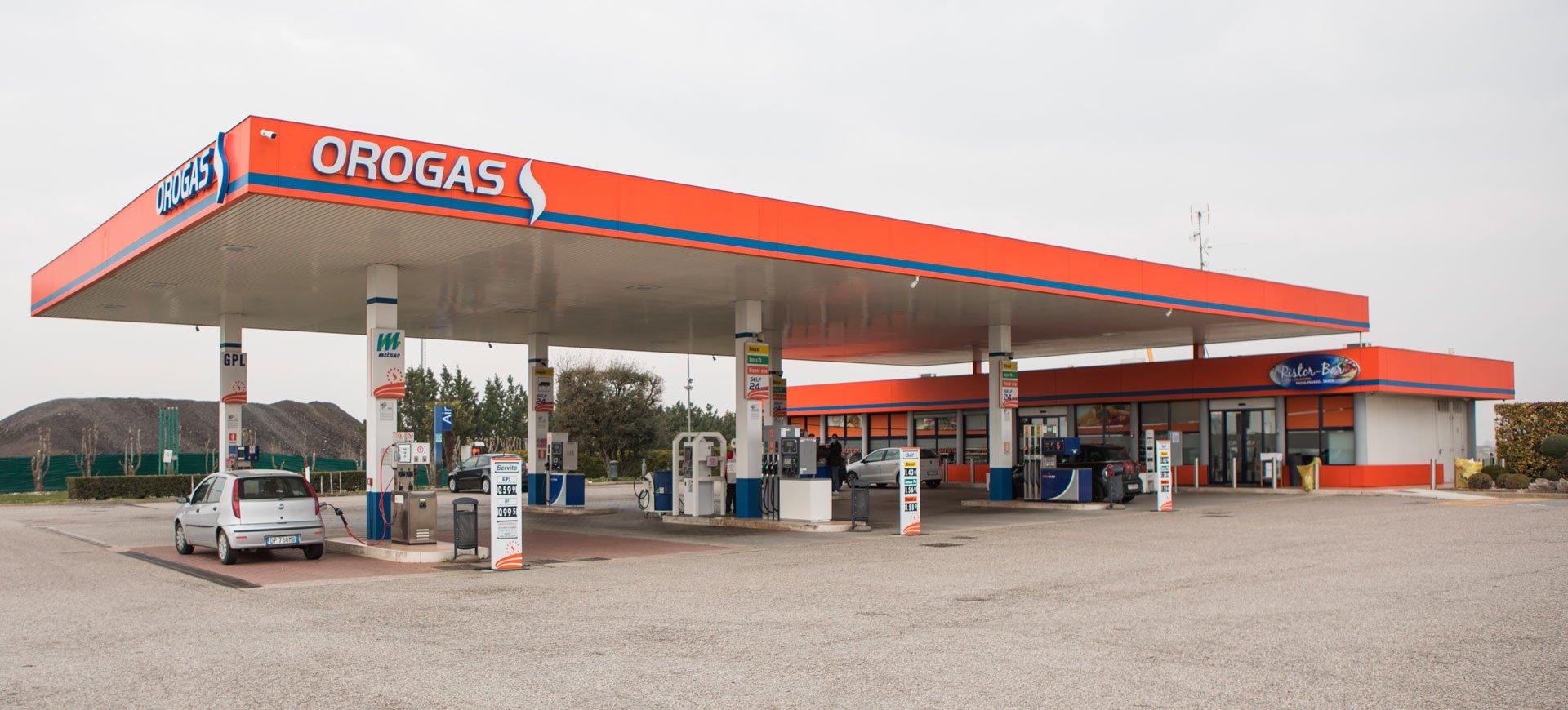 Orogas stazione di servizo